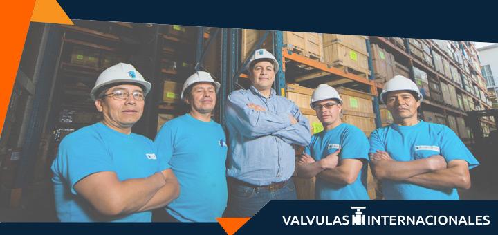 Trabajo y productos de Válvulas Internacionales